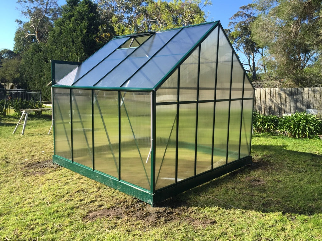 Grow-Fresh Greenhouses Dorset Grande 3000 (Green)