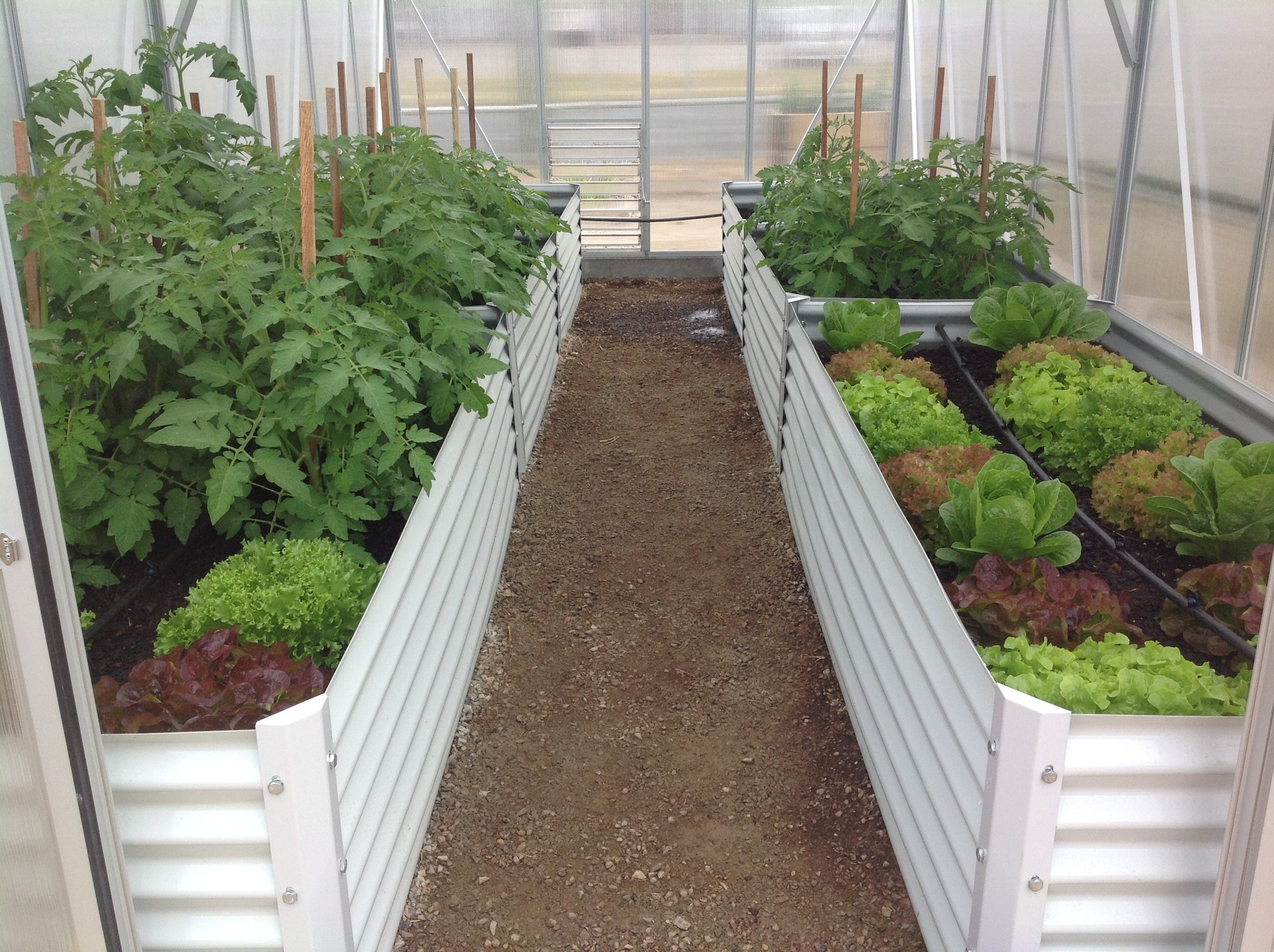Grow-Fresh Greenhouses- 1400 Raised Garden Bed
