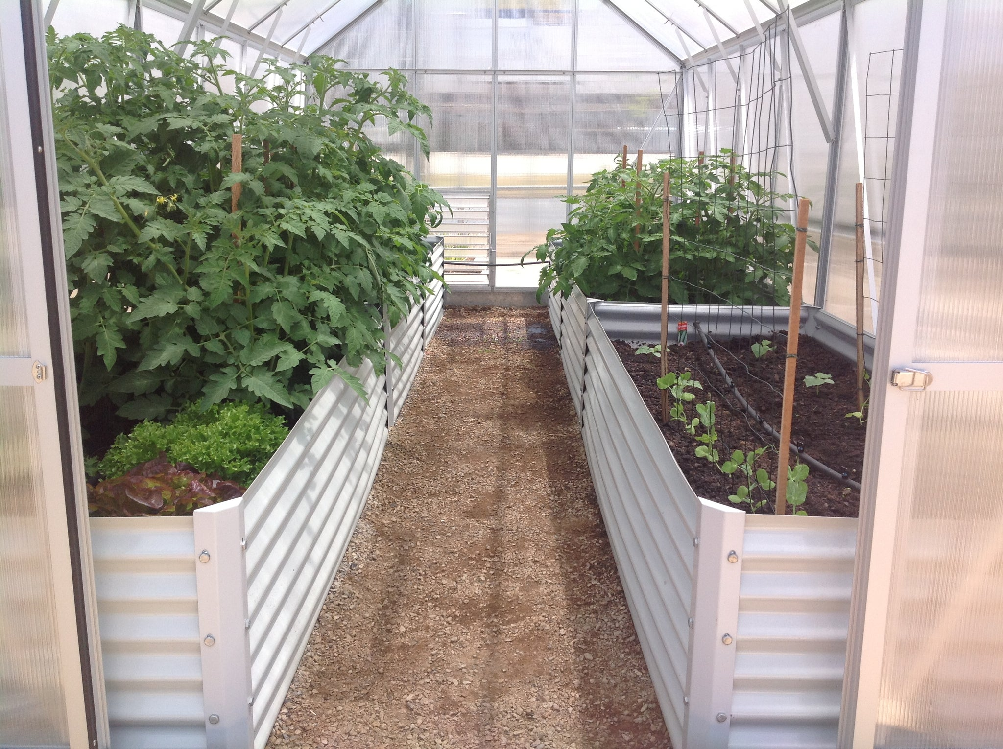Grow-Fresh Greenhouses- Raised Garden Bed Kit