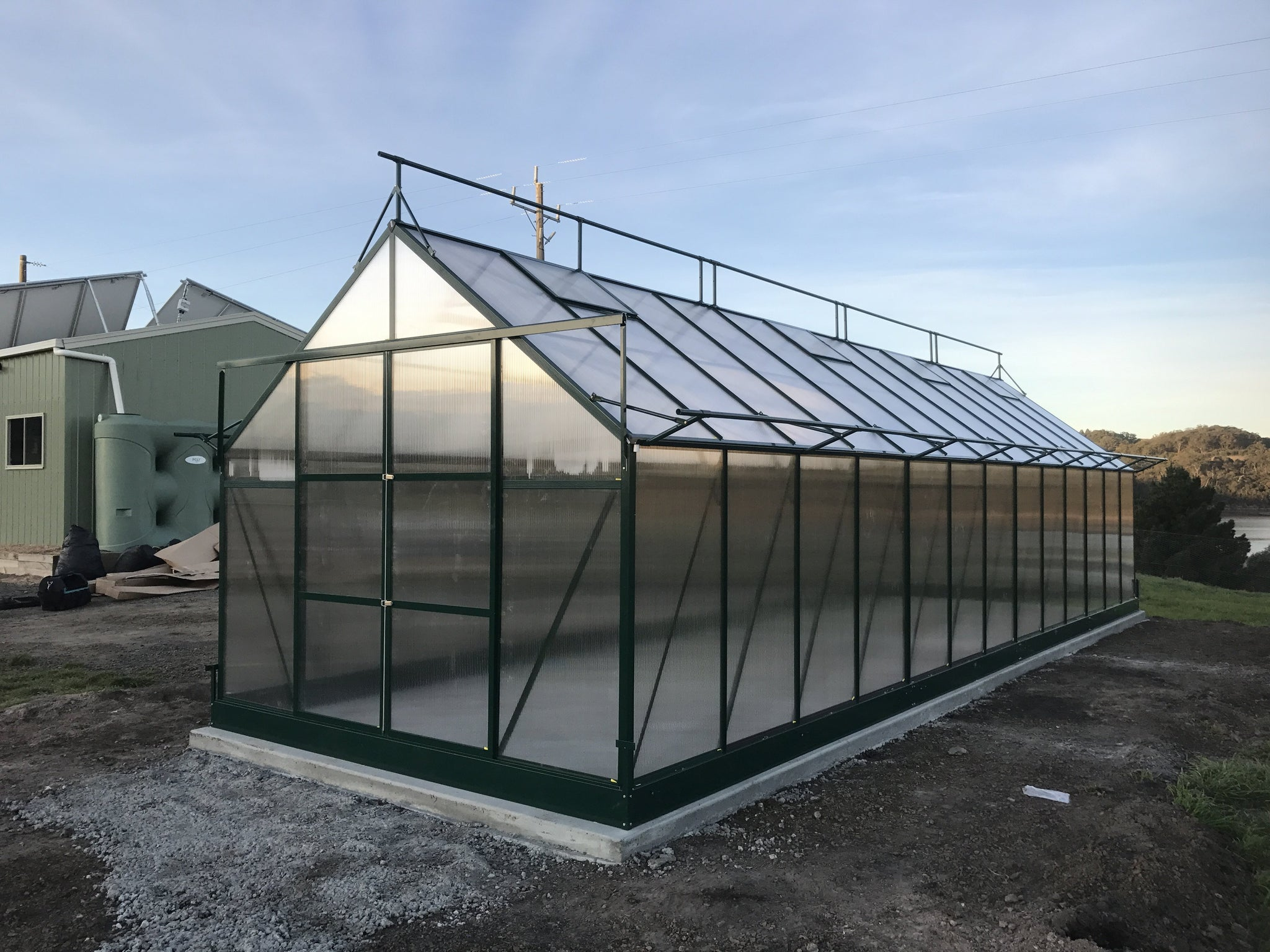 Grow-Fresh Greenhouses Dorset Grande 9400 (Green)