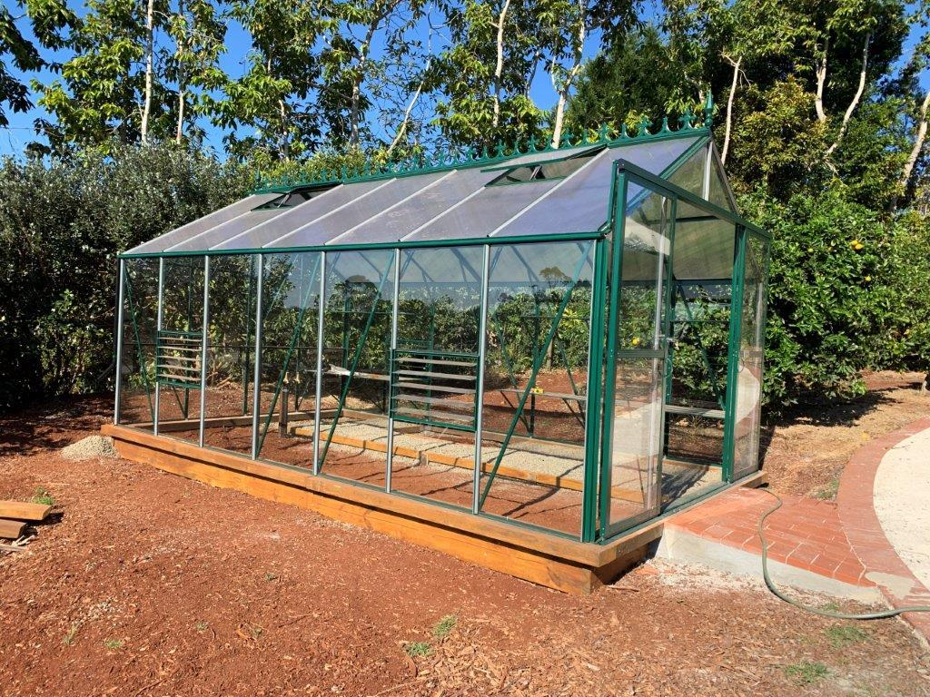 Grow-Fresh Greenhouses Windsor Junior 5200 Glasshouse (Green)