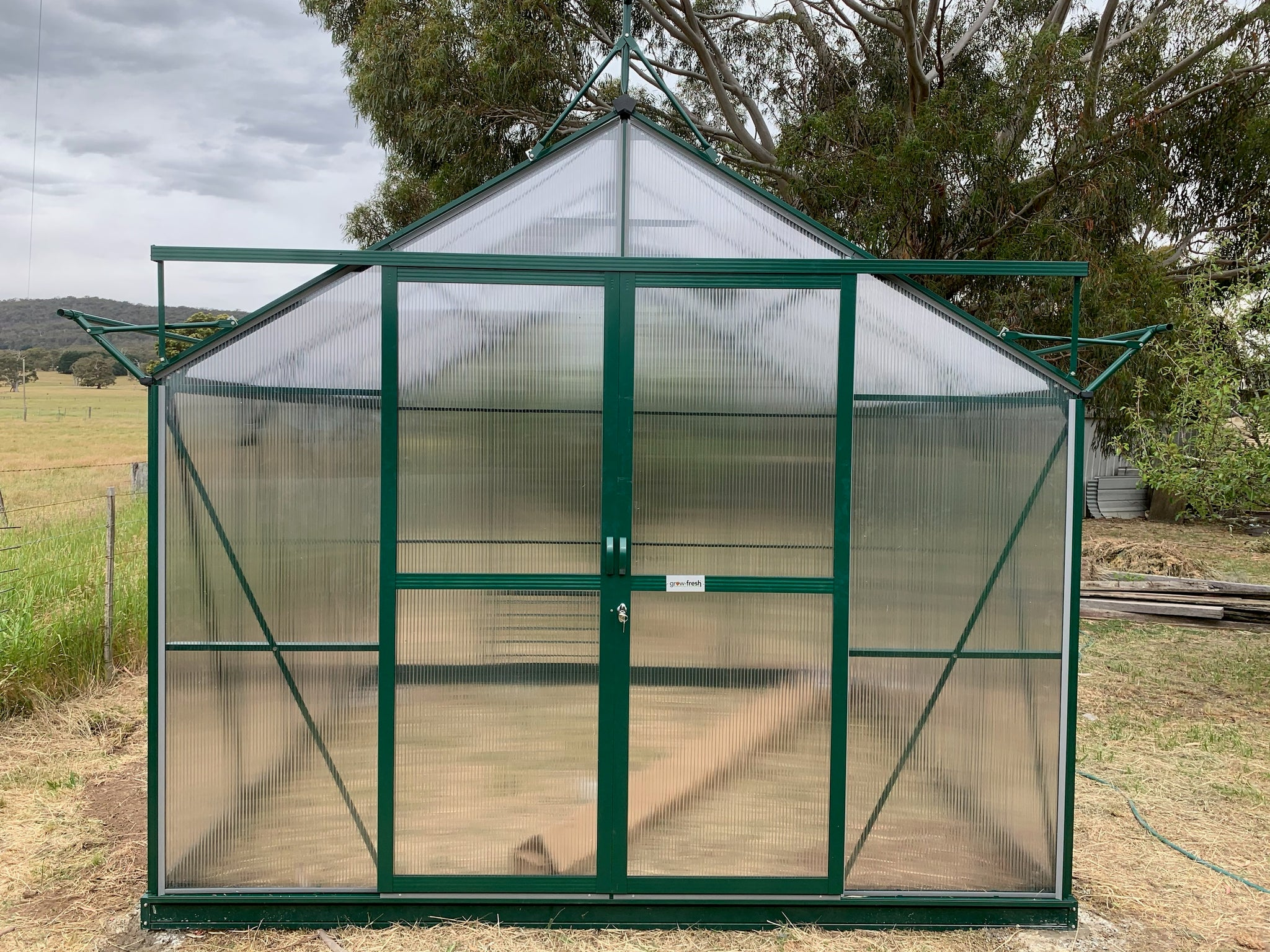 Grow-Fresh Greenhouses- Extra Double Doors