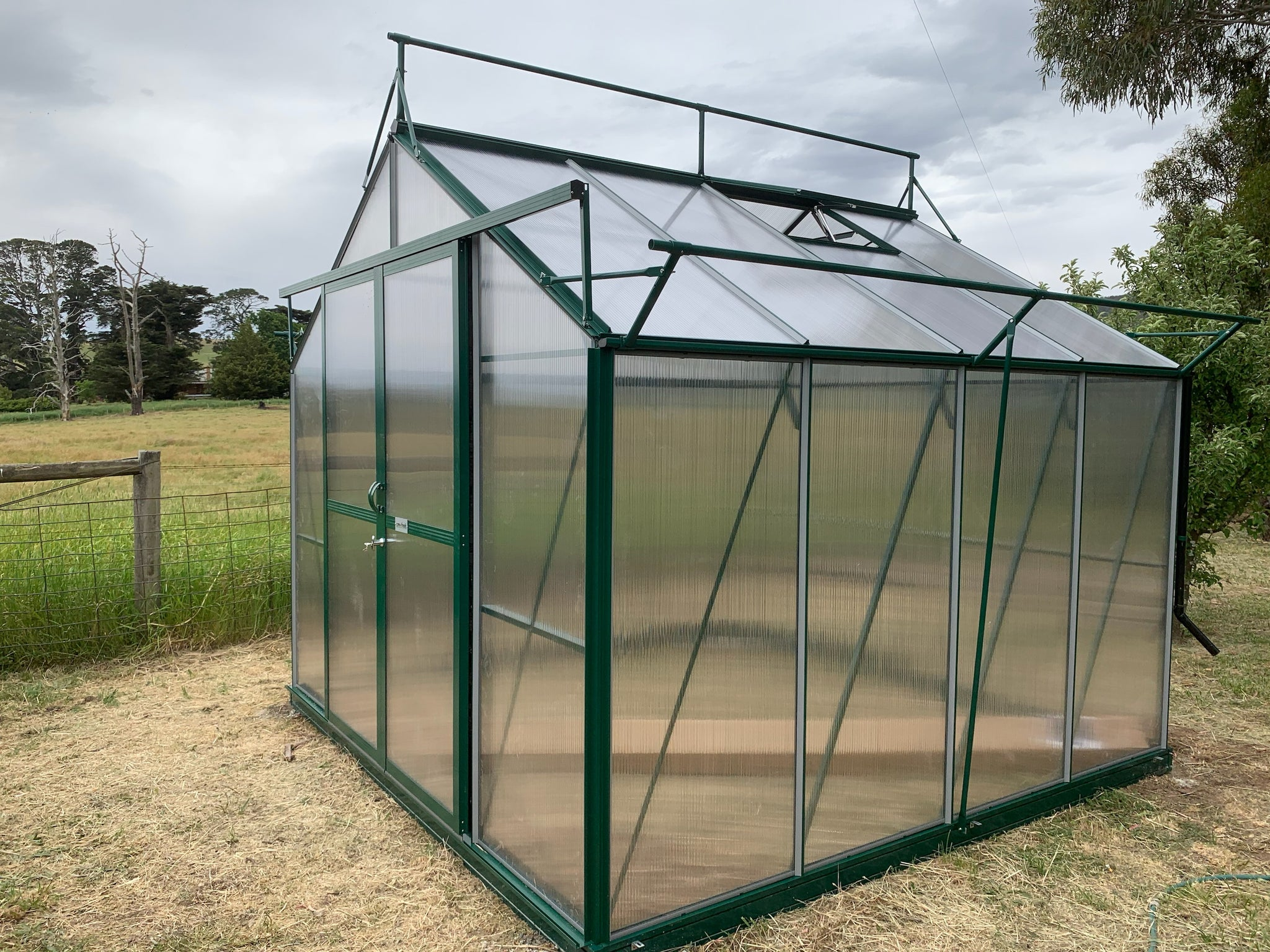 Grow-Fresh Greenhouses Windsor Junior 3000 (Green)