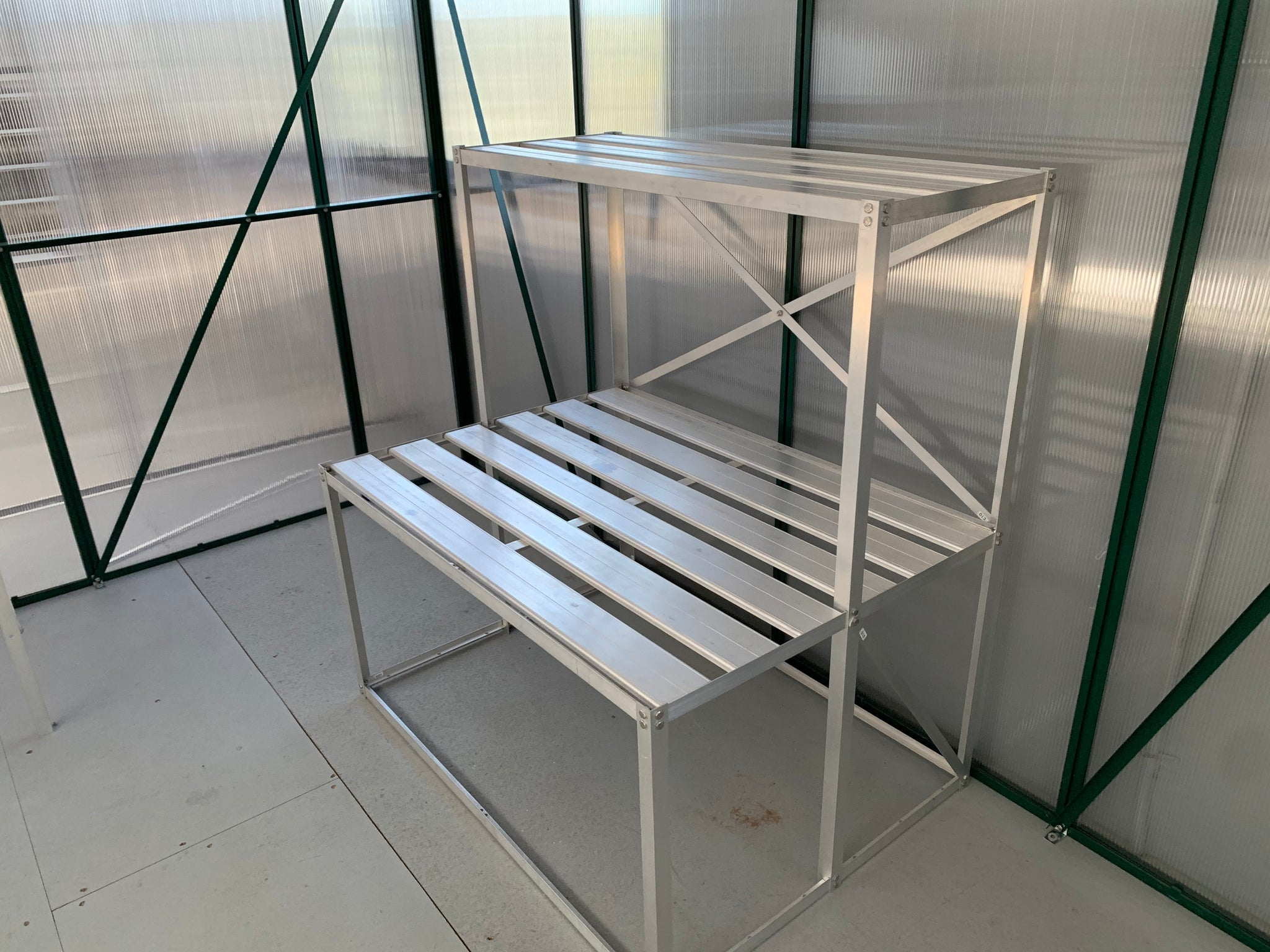 Grow-Fresh Greenhouses- Dorset Series Shelving Kits/Stands