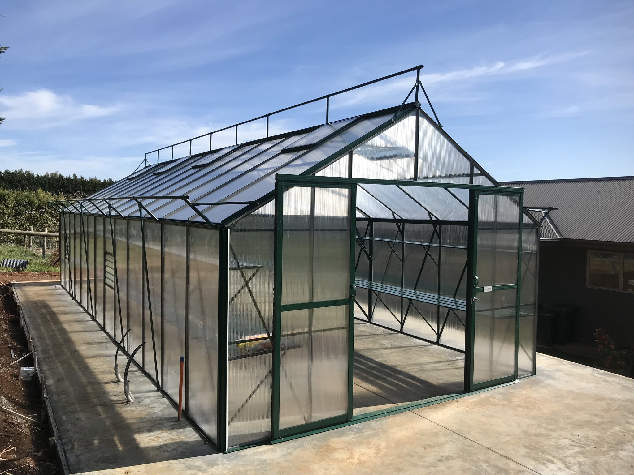 Grow-Fresh Greenhouses Windsor Royale 9500 (Green)