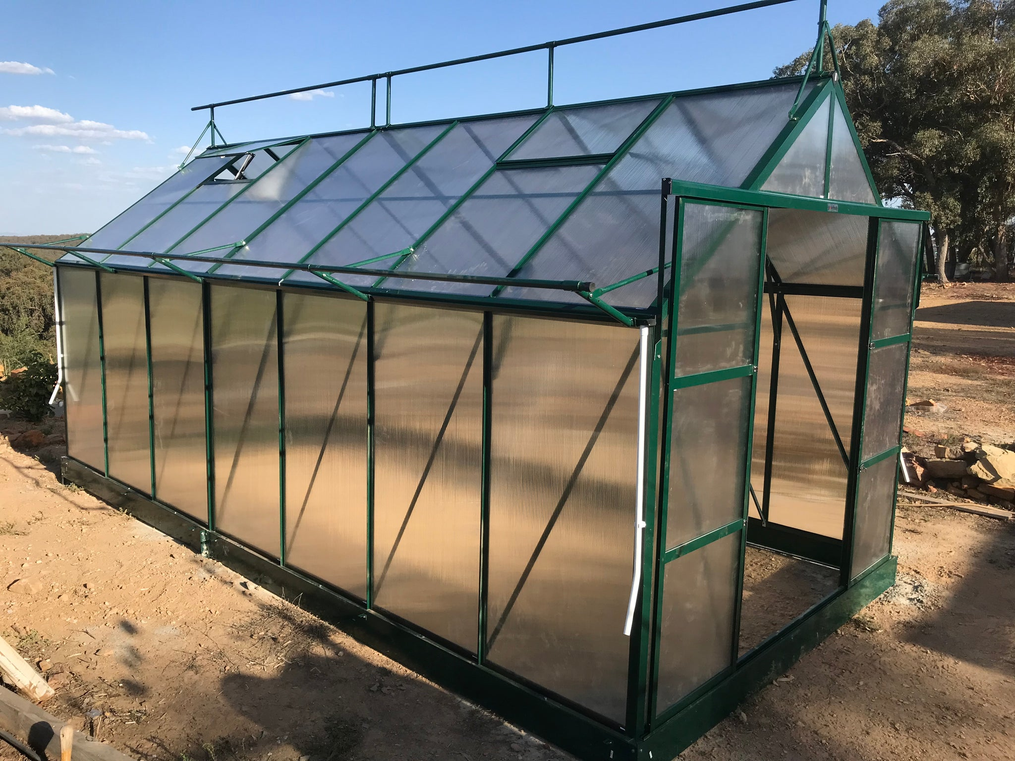 Grow-Fresh Greenhouses Dorset Classic 5200 (Green)
