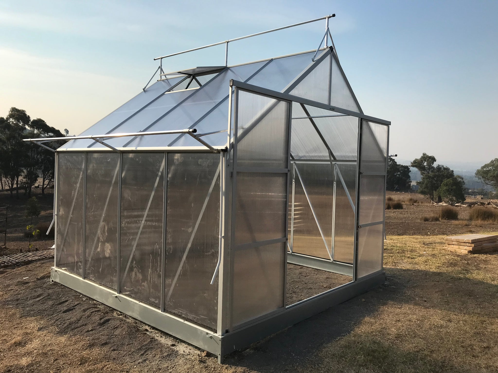 Grow-Fresh Greenhouses Dorset Grande 3000 (Silver)