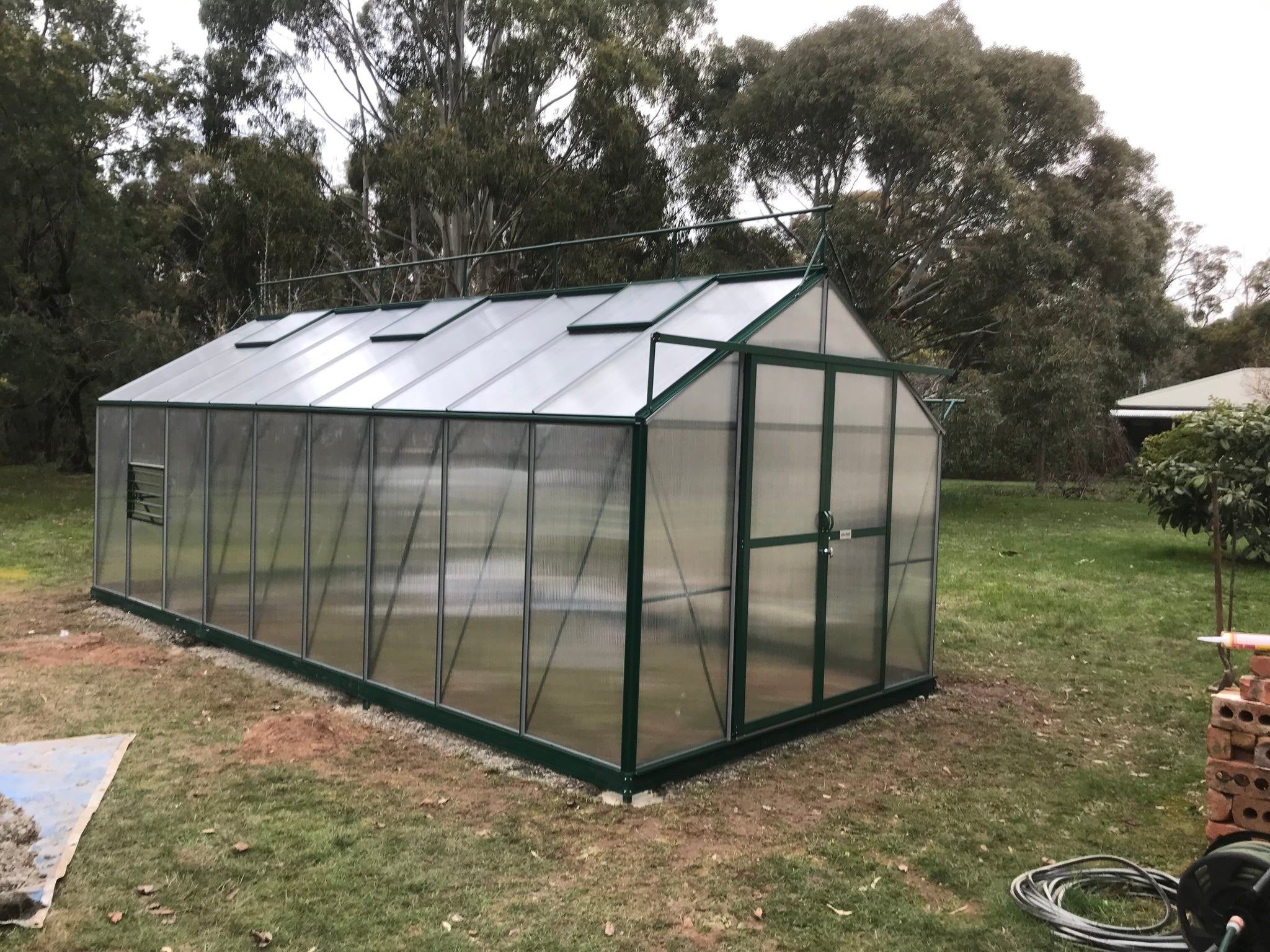 Grow-Fresh Greenhouses Windsor Junior 6600 (Green)