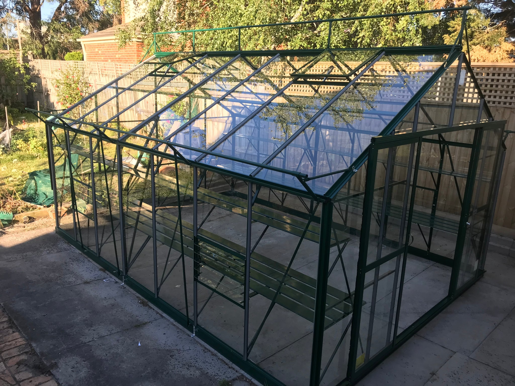 Windsor Royale 11600 Glasshouse- 11.6mLx3.7Wx2.8Hm (38.1x12.1x9.2ft)