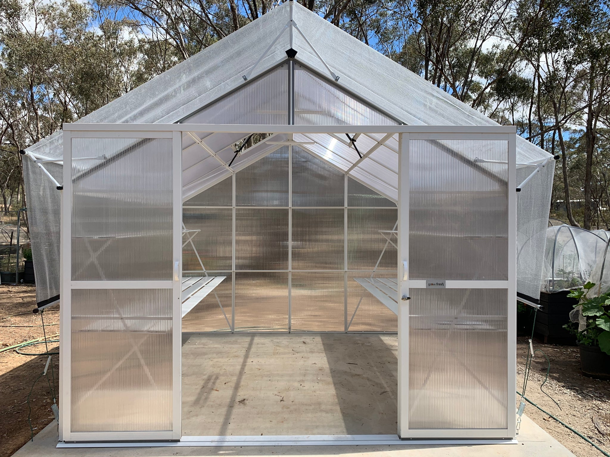 Grow-Fresh Greenhouses Windsor Junior 3000 (Silver)
