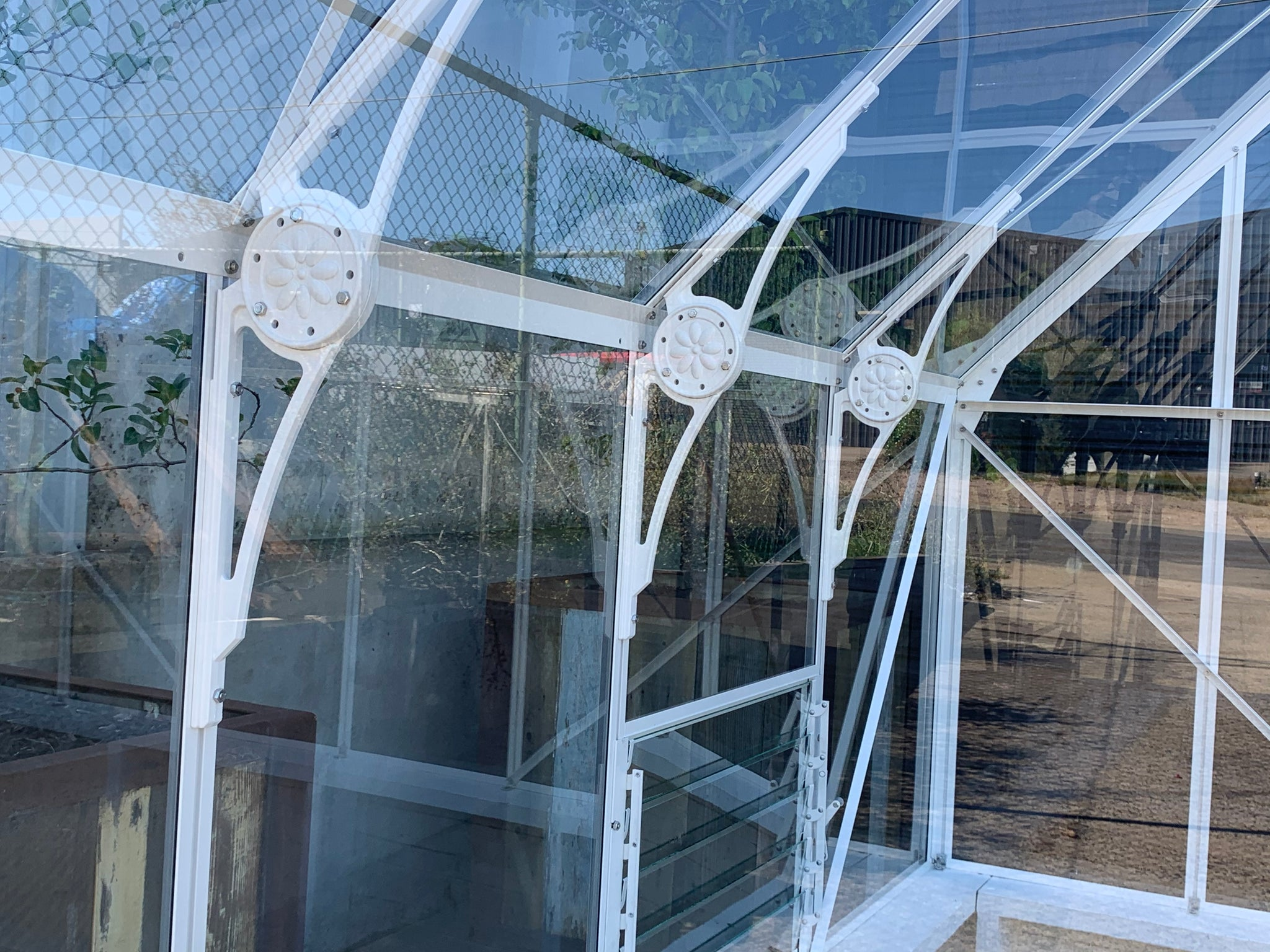Grow-Fresh Greenhouses- Victorian Dwarf Wall Glasshouse 3.0m Width