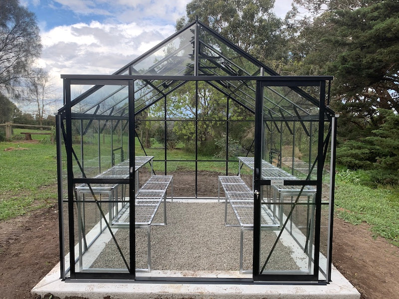 Grow-Fresh Greenhouses Stately Classic 3200 Glasshouse (Black)