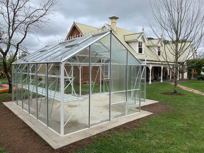 Grandiose Orangery 4500 Glasshouse- 4.5Lx4.5Wx2.5H (14.6x14.6x8.5ft)