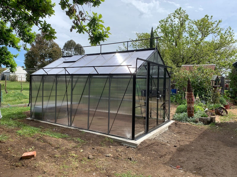 Grow-Fresh Greenhouses Windsor Junior 3000 (Black)
