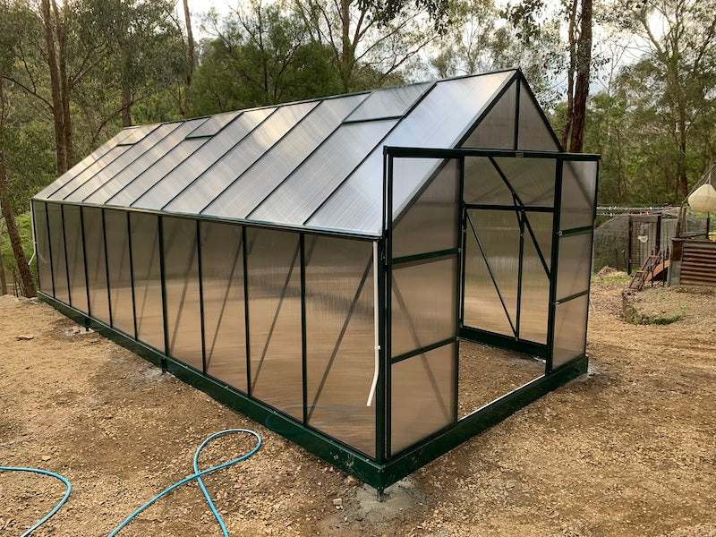 Grow-Fresh Greenhouses Dorset Grande 7300 (Green)