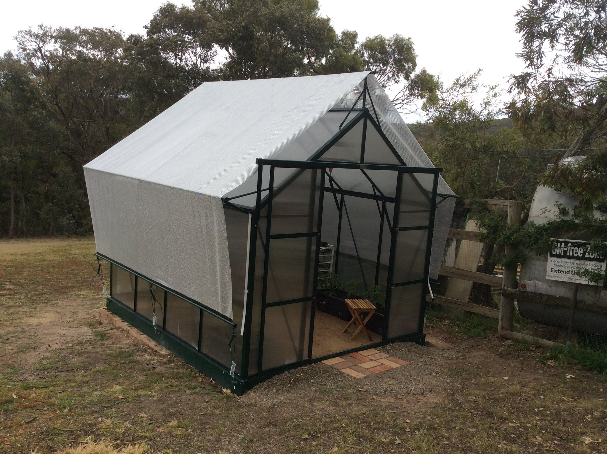 Grow-Fresh Greenhouses- Dorset Series Shade System, Greenhouse Shade, Greenhouse Cover, Aluminet Cloth