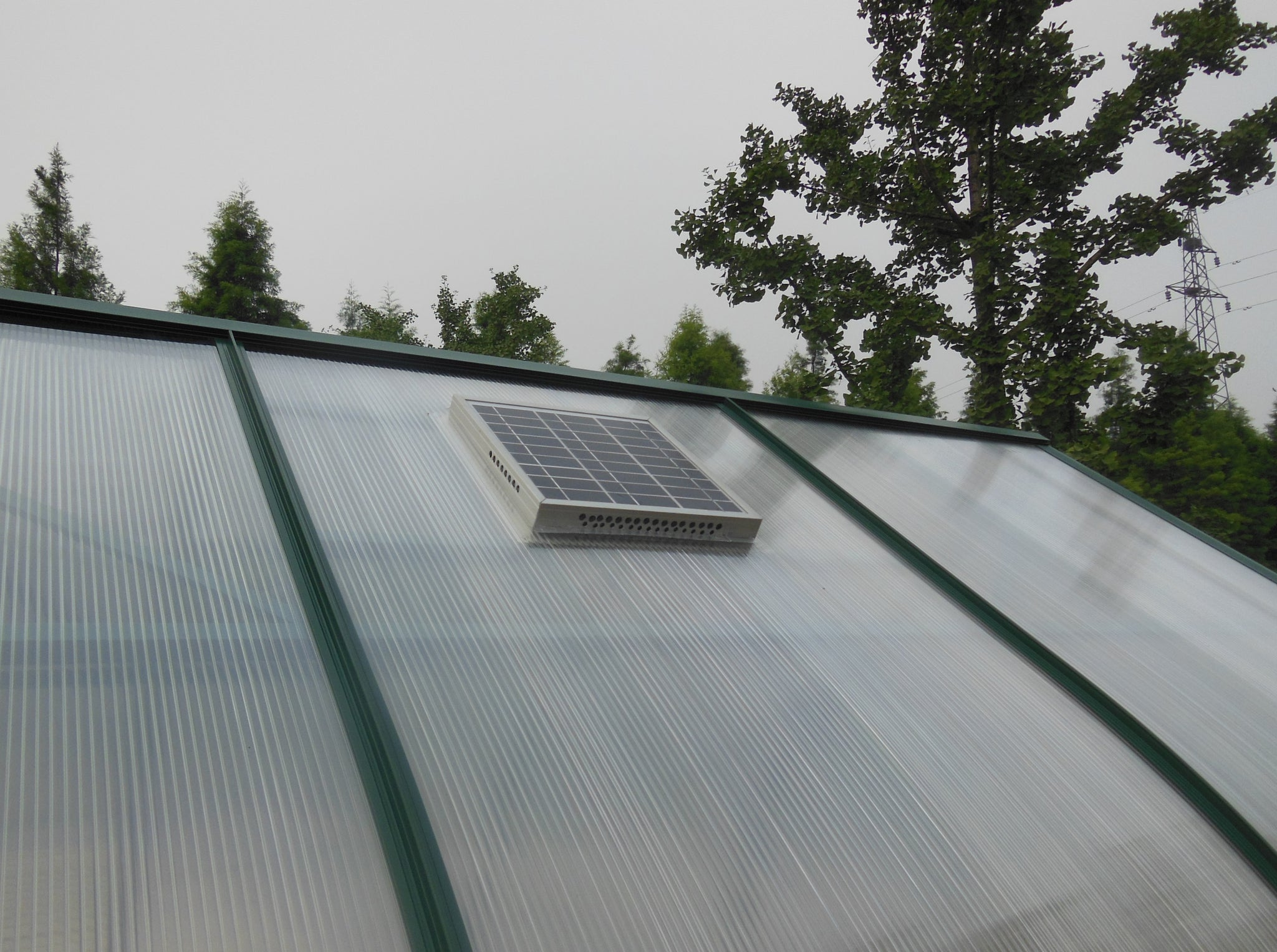 Grow-Fresh Greenhouses- Solar Ventilator, Greenhouse Ventilator