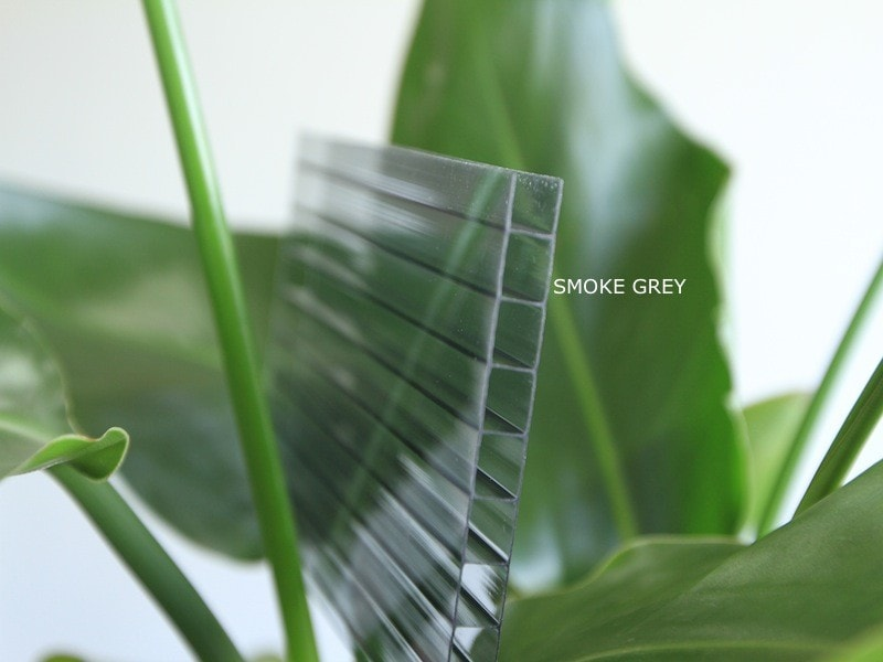 Grow-Fresh Greenhouses- 10mm Twin Wall 100% Raw GrowLux UV2 Polycarbonate Sheets
