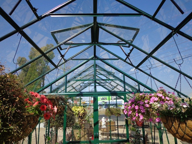 Grow-Fresh Greenhouses Stately Series Generous Eave & Ridge Height