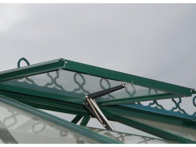 Grow-Fresh Greenhouses Stately Series Roof Vents With Automation Standard
