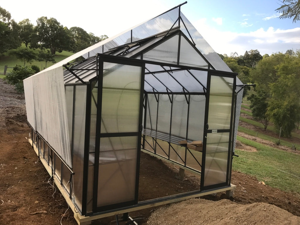 Grow-Fresh Greenhouses- Stately Series Shade System, Greenhouse Shade, Greenhouse Cover, Aluminet Cloth