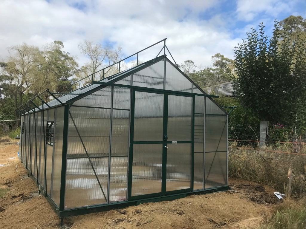 Windsor Royale 7300 Greenhouse- 7.3Lx3.7Wx2.8Hm (24x12.1x9.2ft)