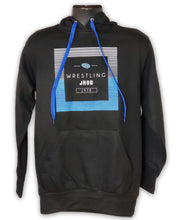 Load image into Gallery viewer, Blue Square Hooded Sweatshirt