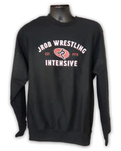 Load image into Gallery viewer, JROB Wrestling Black Crew Sweatshirt