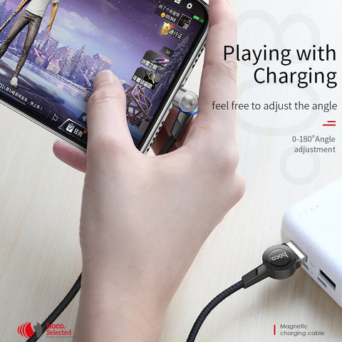 Image of 180 Degree Charging Magnetic Cable