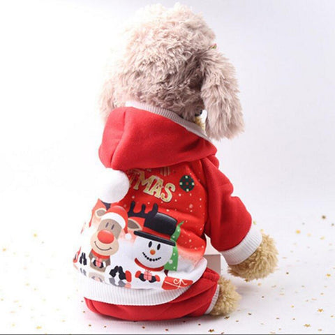 Image of Santa Costume For Pets