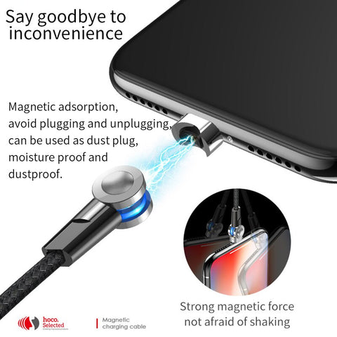 180 Degree Charging Magnetic Cable