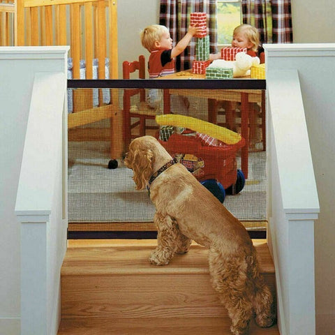Image of Portable Kids & Pets Safety Door Guard