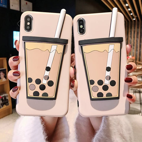Image of Bubble Tea iPhone Case