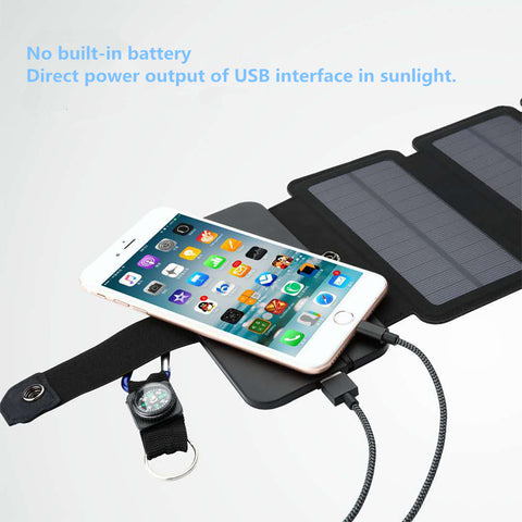 Image of The Hiker Portable Solar Panel Charge for Smartphones