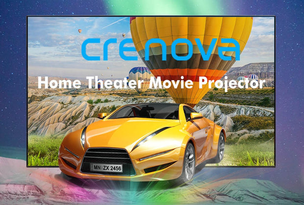Android Projector 1280*720P Supports 4K - Cinema