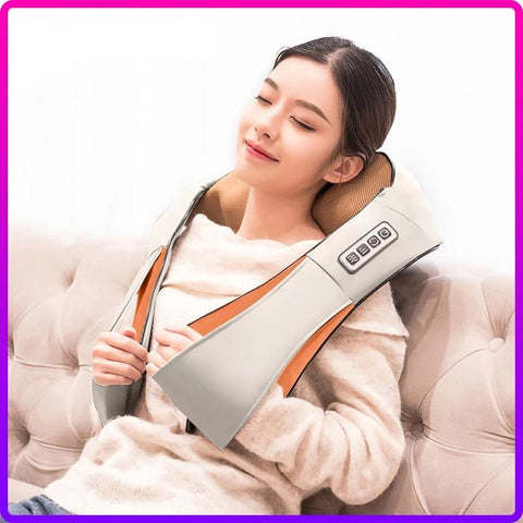 Image of Shiatsu Sleeve Portable  U Shape Massager