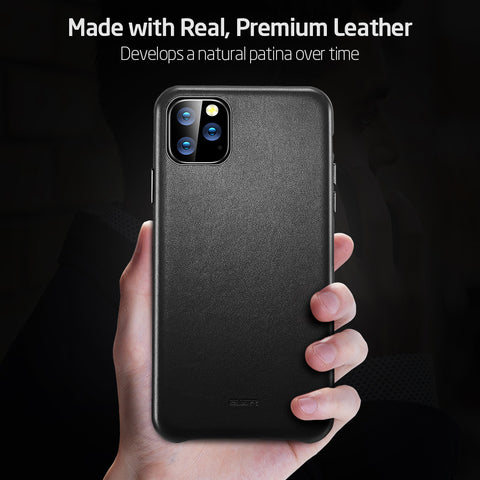Image of iPhone 11 Pro Max Leather Case