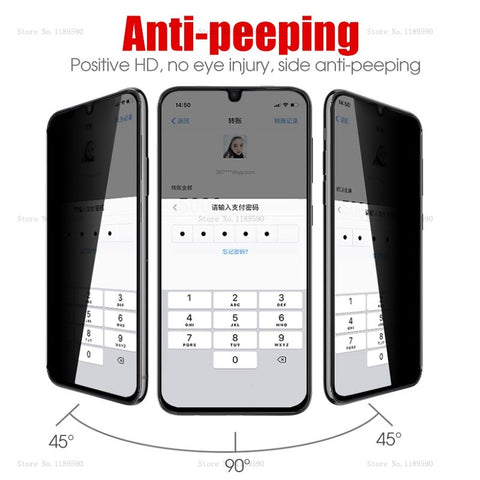 Image of Anti-Spy Privacy Glass For Samsung Phones