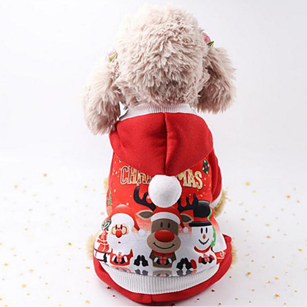 Santa Costume For Pets