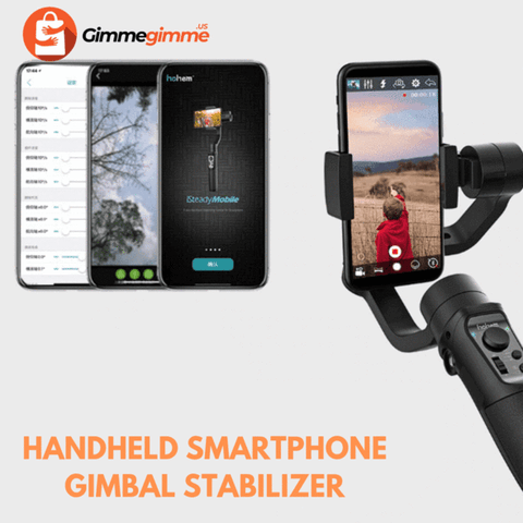 Image of Mobile Handheld IPhone Gimbal Stabilizer
