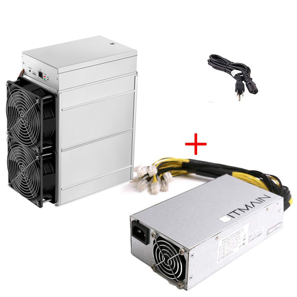 Bitmain Antminer Z11 135K Sol/s Zcash ZEC Equihash Asic Miner Include APW3++ PSU in Stock