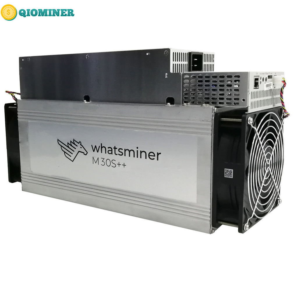 New Bitcoin Miner Microbt Whatsminer M30S++ цена112T Asic Miner BTC Mining - qiominer