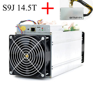 Bitmain Antminer S9J/i 14.5T ASIC Miner Include APW3++ PSU and Power Cord