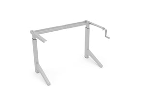 Manual Sit/Stand Desk Frame (Crank Mechanism) - Raiz-it