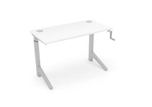 Manual Sit/Stand Desk (Crank Mechanism) - Raiz-it