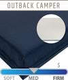 Outback Camper Camp Mattress with Nylon Cover