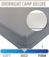 Overnight Camp Deluxe Camp Mattress with Vinyl Cover