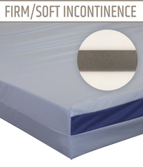 Firm/Soft Incontinence Mattress