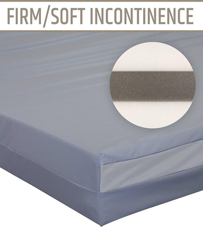 Home Care/Nursing Home Dual-Sided Incontinence Mattress