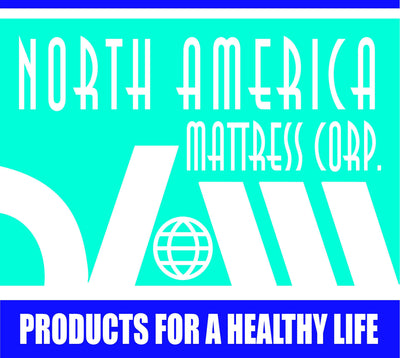 "NAMC Marathon Mattress Standard Stretcher Pad with 8"" Angled Cut at Head, mattress - North America Mattress Corp."